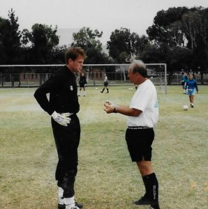 No. 1 SOccer Camps History Goalkeepers