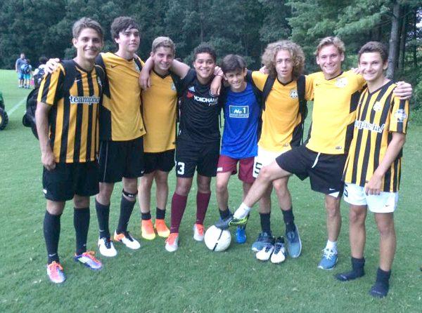 Team Camp at No. 1 Soccer Camps