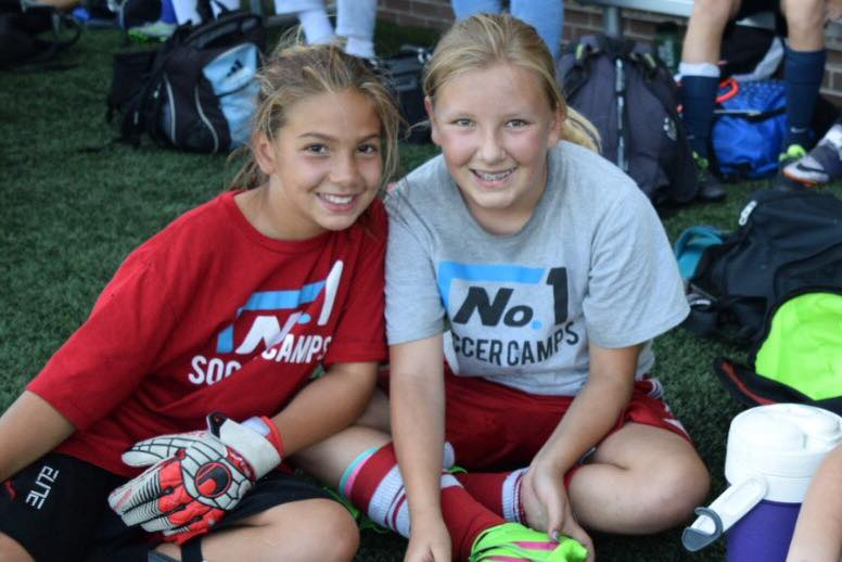 No. 1 Soccer Camps BFF Promotion